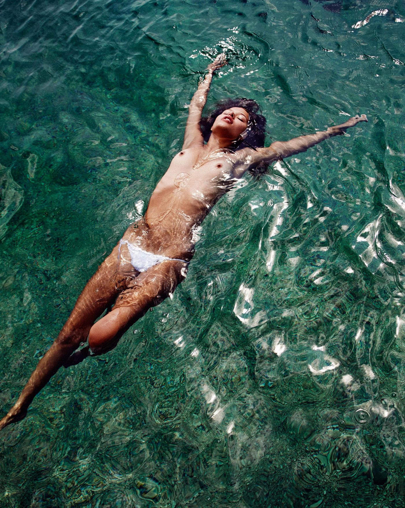 Naked swim california