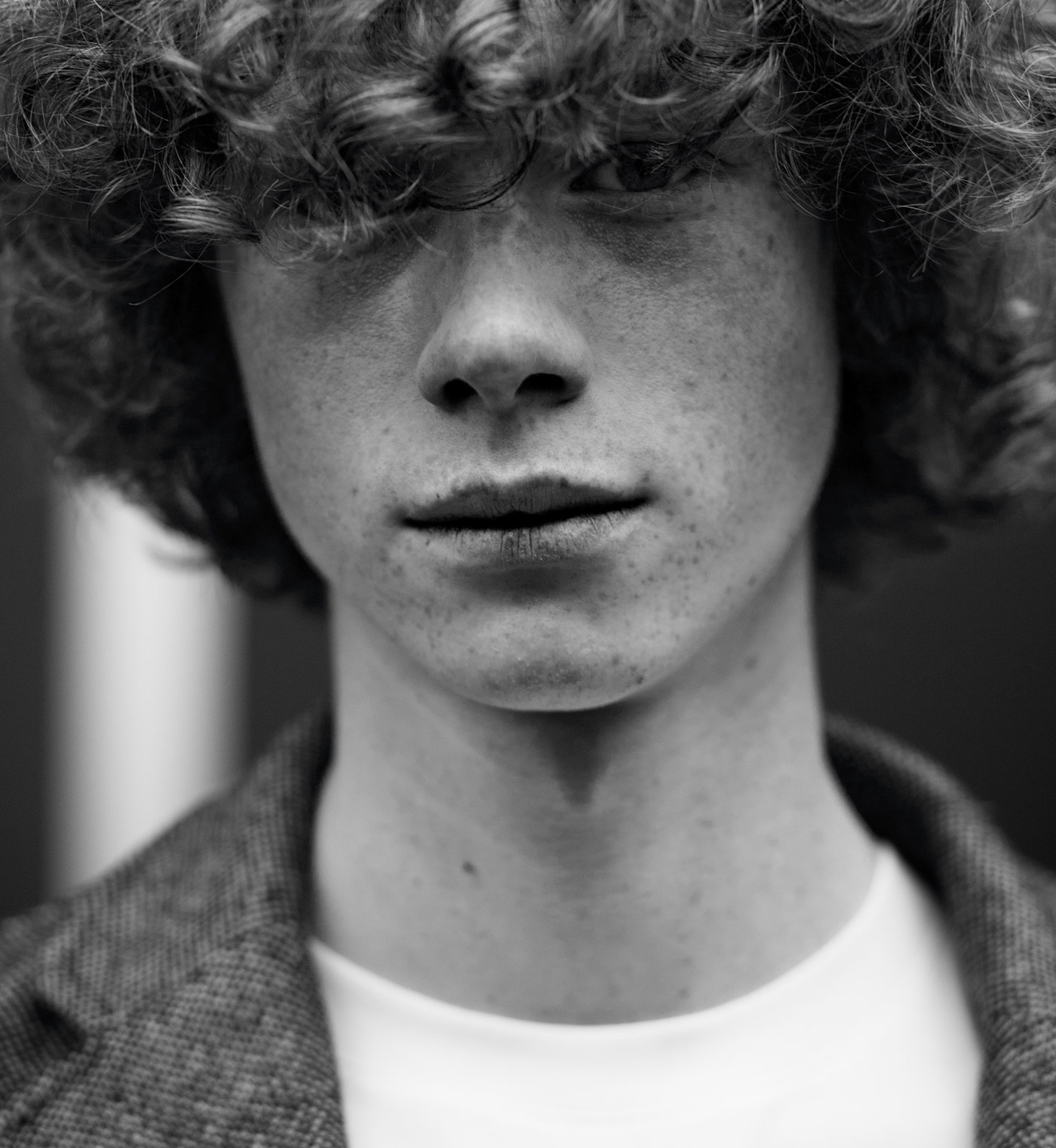 Photobooth. Male Model Portraits photographed by Chiara ...